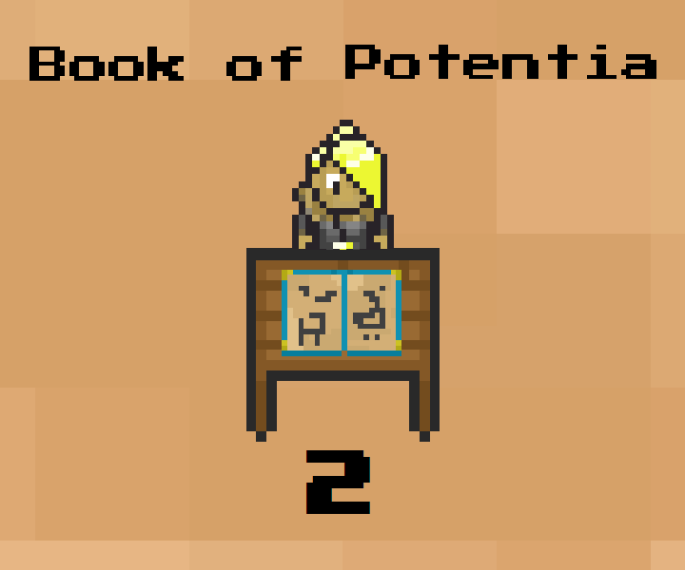 Book of Potentia 2 Title Screen